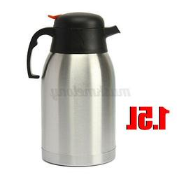 1.5L Home Thermos Stainless Steel Vacuum Insulated Coffee Te