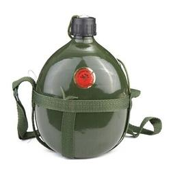1 5l military canteen aluminum bicycle cycling