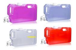 1 Gallon BPA Free Slim Drinking Water Bottle Jug W/ Dispense
