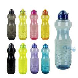 1 Liter Sports Water Bottle Plastic Drinking Canteen Gym Jug