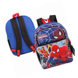 1 Marvel Ultimate Spiderman Backpack With 2 Front Pockets &