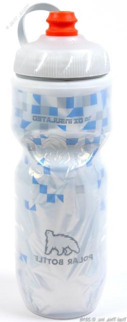 1 or 2-Pack Polar Zipstream 20oz Breakaway Blue Insulated Cy