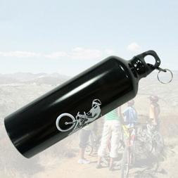 1-Pack Aluminum Alloy 25oz Water Bottles Bike/Hiking Dishwas