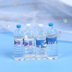 10pcs Mini Mineral Water Bottle 1:12 Dollhouse Miniature Acc
