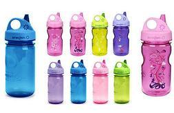 Nalgene 12oz Grip 'n Gulp BpA Free Plastic Kids Water Bottle