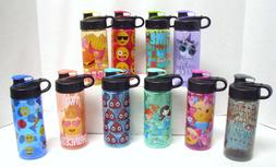 Cool Gear 16oz Water Bottle Choose Design Emoji Princess Mer