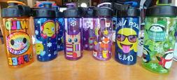 Cool Gear 16oz Water Bottle Choose Design Emoji sNOW, CAT, W