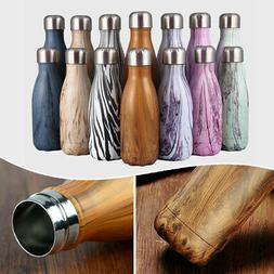 17oz 9oz Double Wall Stainless Steel Water Bottle Insulated
