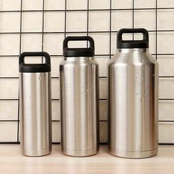18oz/36oz/64oz Stainless Steel Vacuum Insulated Water Bottle