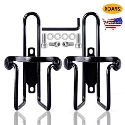 2 Pack Bike Water Bottle Cage Aluminum Alloy Holder Cycling