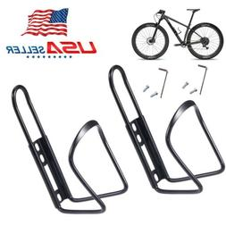 2 Pack Bike Water Bottle Cup Holder with 1 Pack Silicone Bik