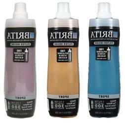 Brita 20 Ounce Sport Water Filter Bottles with 1 Filter, BPA