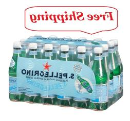 24 ct. S.Pellegrino Sparkling Natural Mineral Water 0.5 L bo
