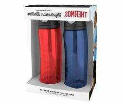 Thermos 24-oz. Hydration Water Bottle, 2 pack Red Blue BPA-F