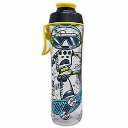 "24 Sports Water Bottles Oz. Reusable For Girls "" Boys - BPA"