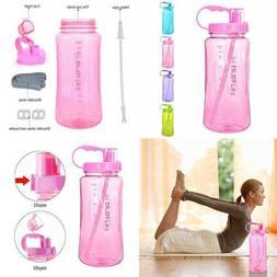 2L LARGE Capacity Sports Water Bottle BPA Free 2 Liter 68 Oz