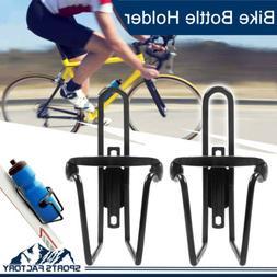2x Alloy Aluminum Mountain Bike Bicycle Water Bottle Holder