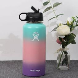 32oz Hydro Stainless Steel Water Bottle Insulated Wide Mouth