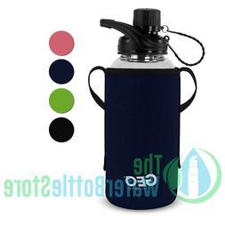 34oz 1l borosilicate bpa free glass water