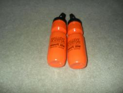 4 Large Plastic Water Bottles with Covers/Lids and Spouts BP
