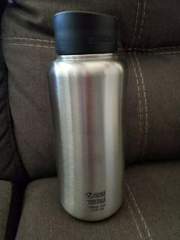 Klean Kanteen 40oz WIDE Brushed Steel Bottle