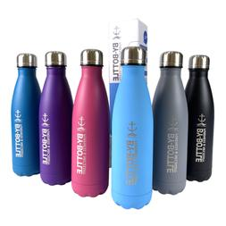 500ml Stainless Steel Vacuum Cool Water Bottle Thermos Doubl