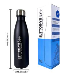 500ml Stainless Steel Water Bottle 17Oz Double-Wall Vacuum I