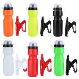 650ml Outdoor Bike Cycling Road Bicycle Portable Water Bottl