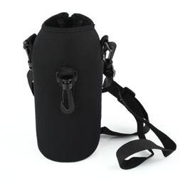 750ML Sport Insulated Water Bottle Cover Carrier Case Holder