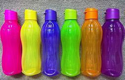 Tupperware - 750ml Water Bottles with FLIPTOP Cap- MULTIPLE