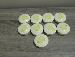 9 Medela Breast Milk Storage Bottle Labeling Lids Caps Only