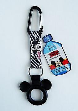 Disney - Mickey Mouse -  Water Bottle Holder Keychain/Keyrin