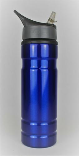 Aluminum Water bottle New 20oz Blue