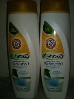Arm & Hammer Essentials Body Wash Clear Water scent vegan /