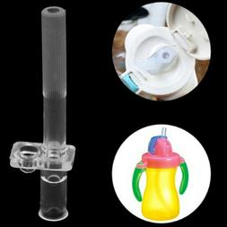Baby straw water bottle feeding for kids drinking cup soft s