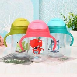 Baby Water Bottles Learning Drinking Feeding Cups With Handl