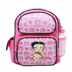 Betty Boop Pink Kiss Girls Backpack/School Book Bag for Kids