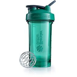 BlenderBottle Pro Series Shaker Bottle, 24-Ounce, Emerald Gr