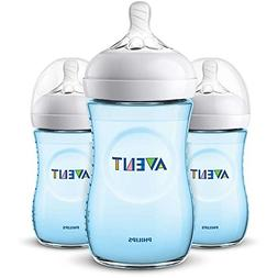 Philips Avent 9oz Natural Baby Bottles 3-Pack - Blue