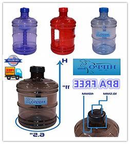 BPA FREE 1 Gallon Reusable Plastic Drinking Water Bottle Jug