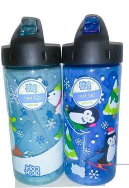 Cool Gear BPA Free 16oz Winter Themed Water Bottles. Lot of
