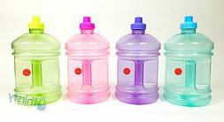 BPA Free Water Bottle Plastic Drinking Gym Canteen Jug Conta