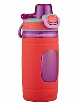 bubba Flo Kids Water Bottle with Silicone Sleeve, 16 oz., Co