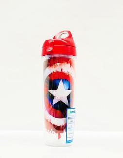 Tervis Captain America Shield 24 oz water bottle