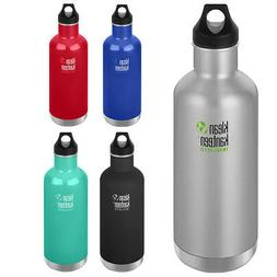 Klean Kanteen Classic 32 oz. Insulated Bottle with Loop Cap