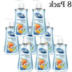Dial Coconut Water & Mango Liquid Hand Soap  7.5oz 8 Bottles