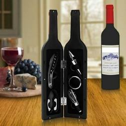 Cork Screw Gift Set 5 Pc Wine Bottle Opener and Accessories