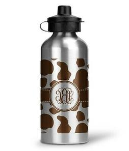 Cow Print Water Bottle - Aluminum - 20 oz
