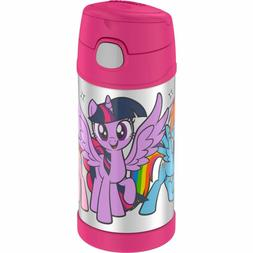 Cutest My Little Pony Water Bottle Thermos For Girls 12 Ounc