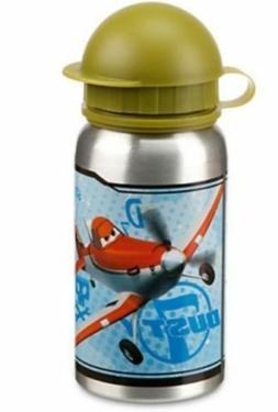 Disney Store Authentic Planes 12oz Water Bottle Aluminum Boy